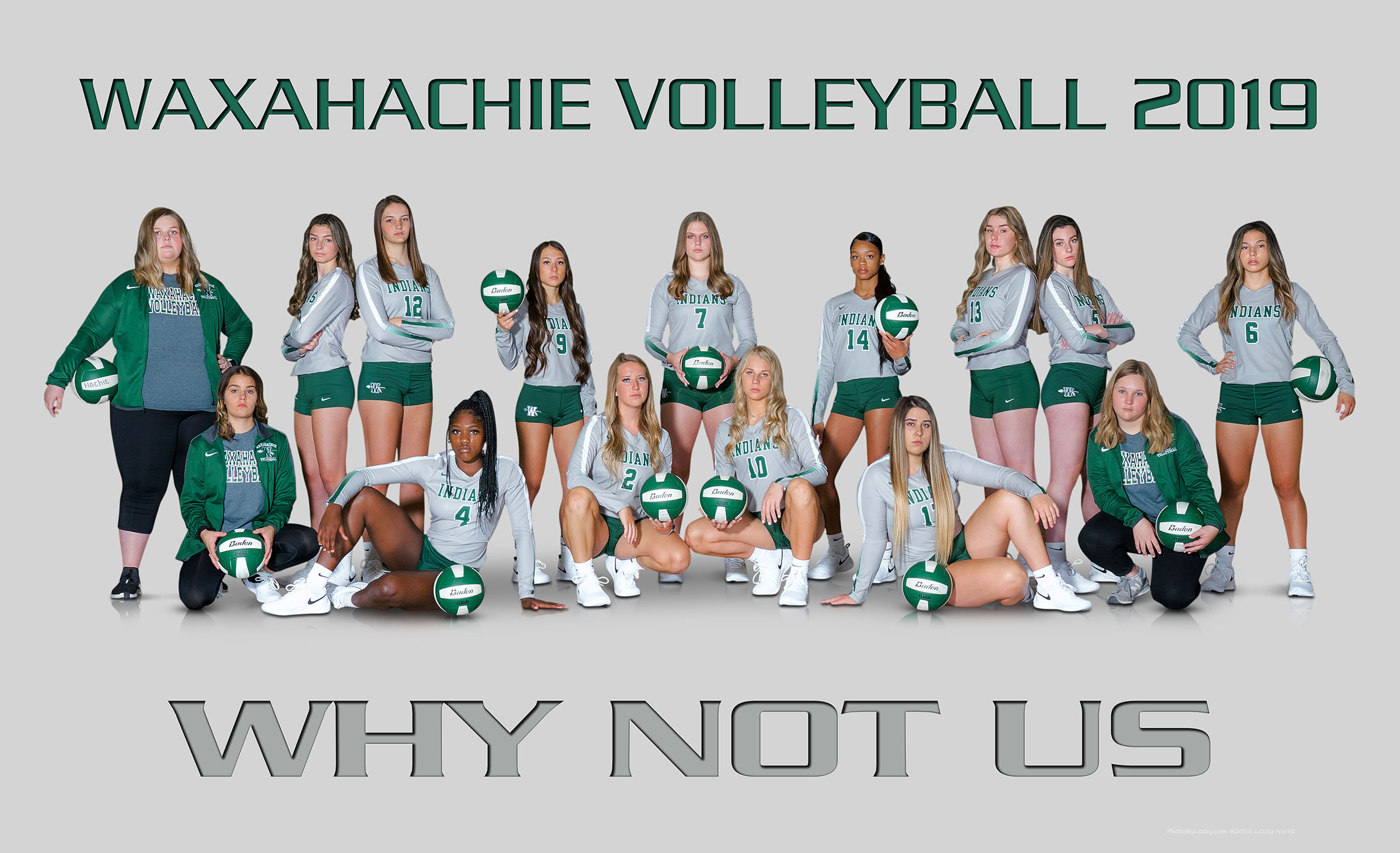 Waxahachie Lady Indians Volleyball